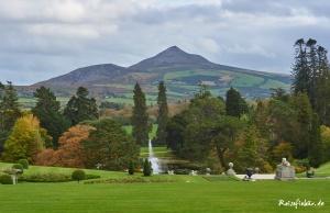 irland dublin powerscourt garden