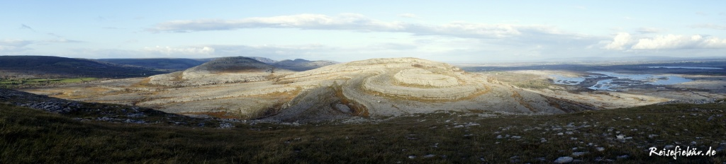 irland the burren nationalpark landschaft