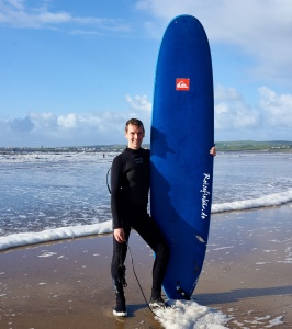 irland westkueste lahinch beach surfen