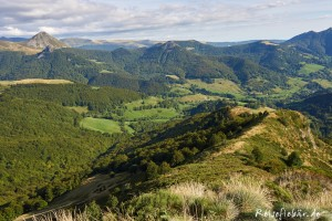 frankreich auvergne puy mary panorama