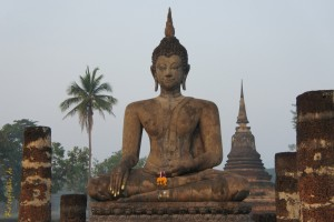 thailand sukothai buddha