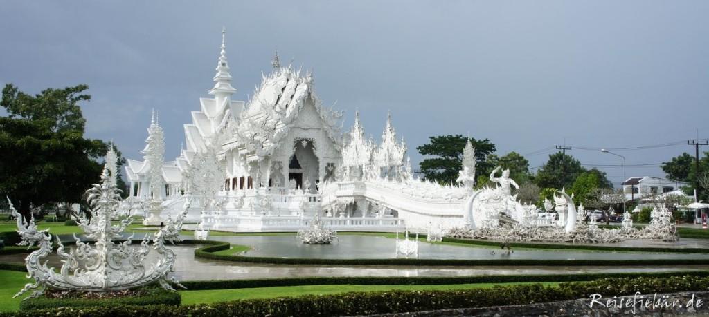 thailand white temple chiang rai
