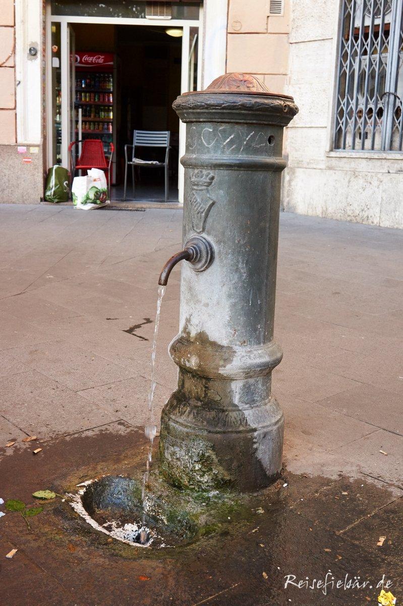Trinkwasserbrunnen Rom