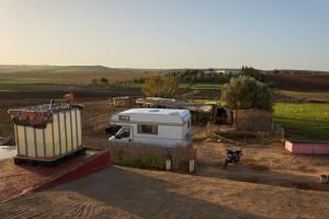 marokko camper bauernhof