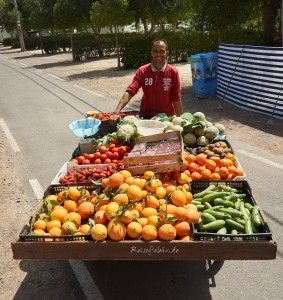 marokko haendler am camper