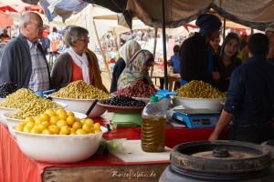 marokko markt olivenstand
