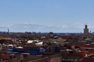 marokko marrakesch schnee atlas