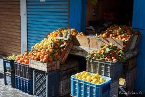marokko souk essaouira obststand