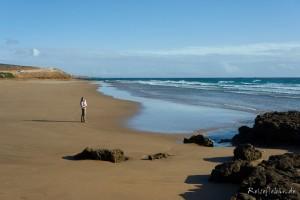 marokko tamraght devils rock strand