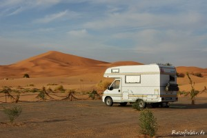 marokko wüste düne camper erg chebbi