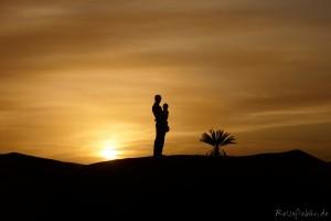 marokko wüste sonnenaufgang erg chebbi